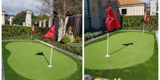 Backyard Golf Turf Installation in Dalkeith